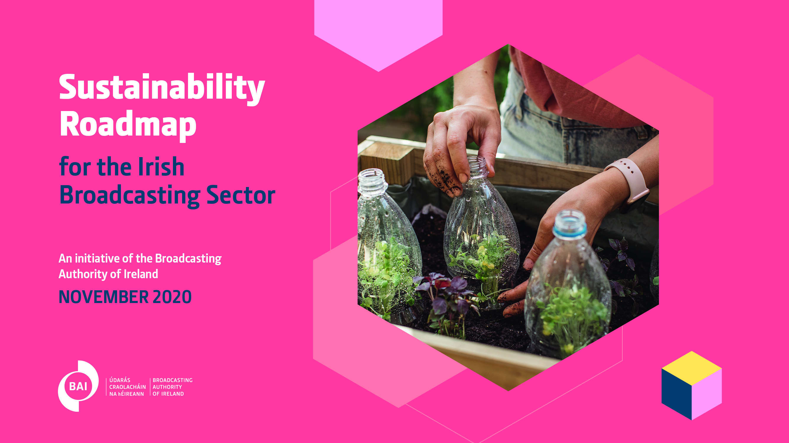 BAI launches Broadcasting Sustainability Network and sustainability roadmap for Irish broadcasting sector