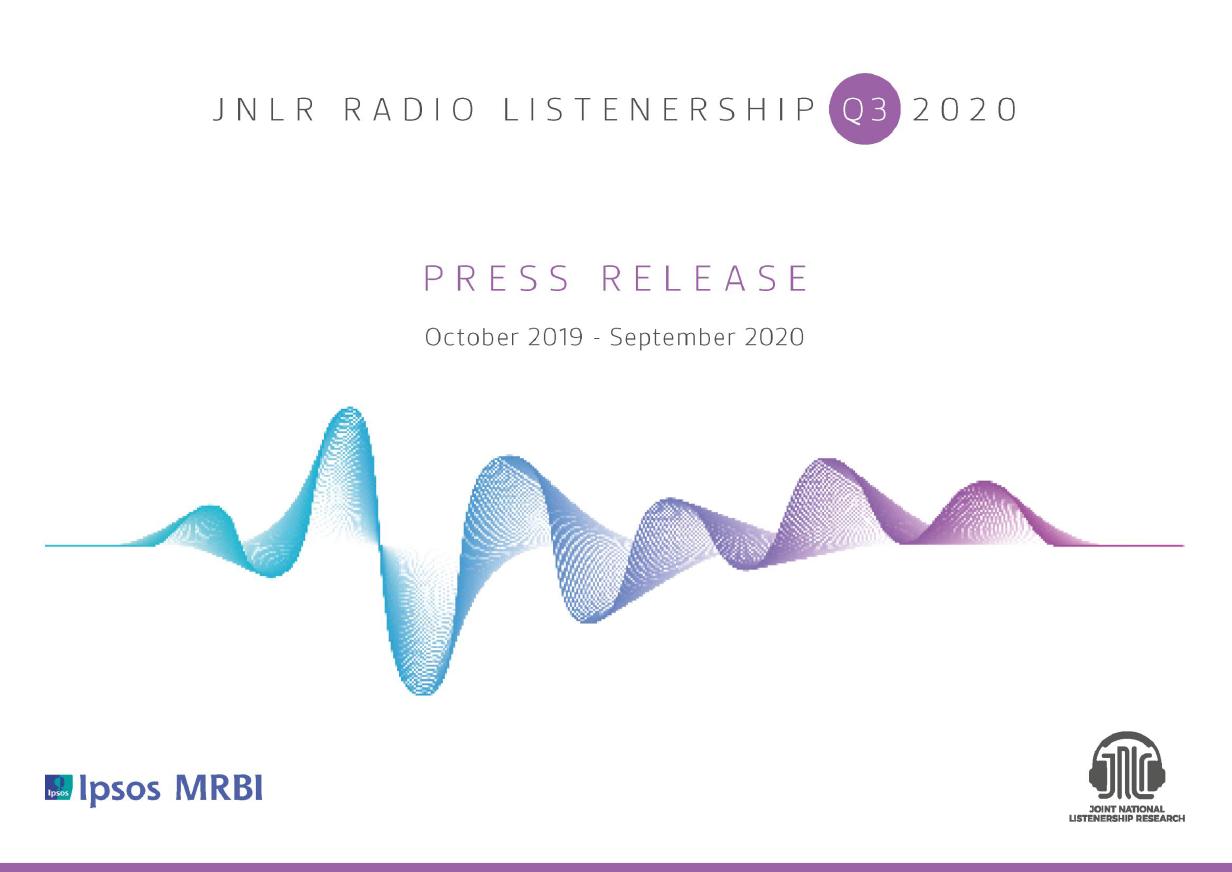 Latest JNLR figures released