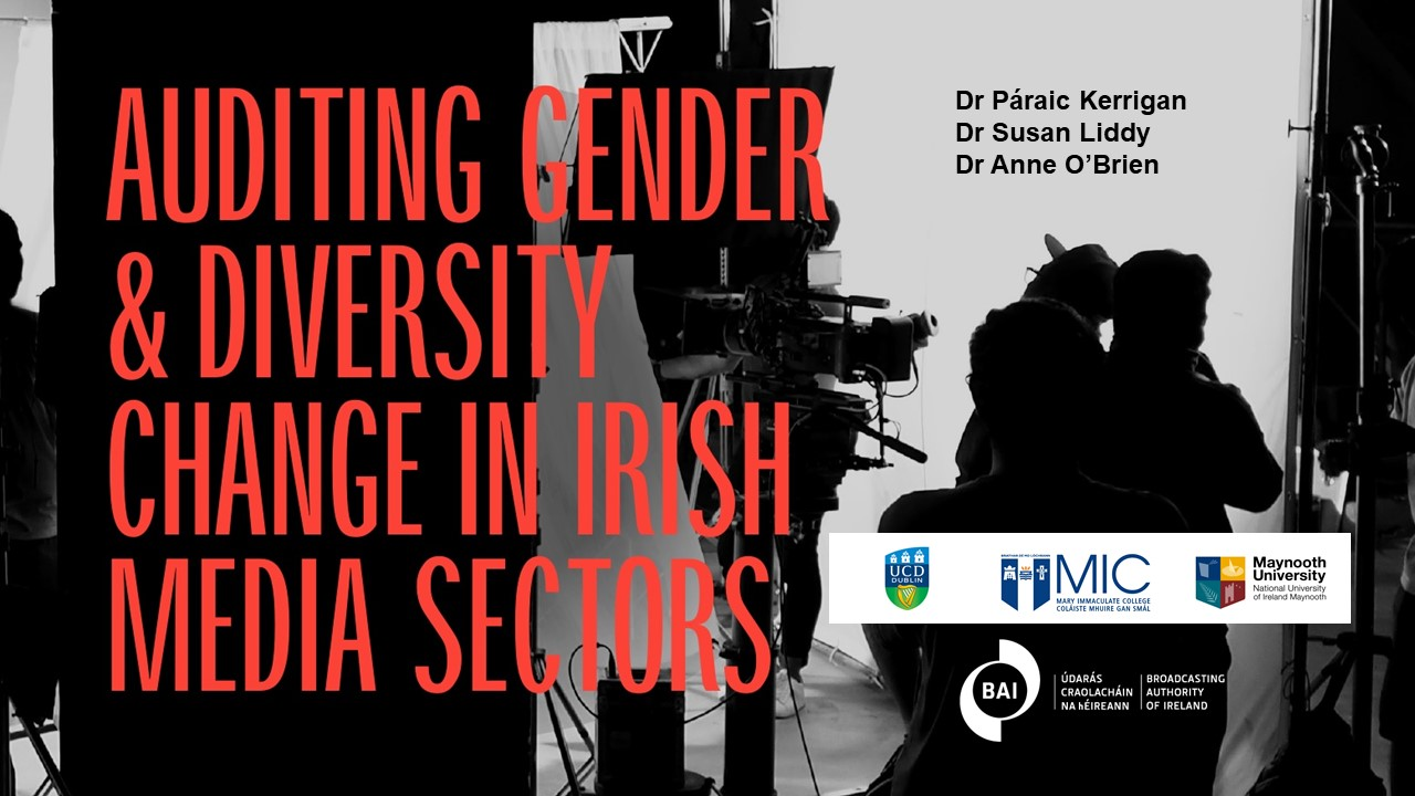 BAI welcomes publication of research report on Equality, Diversity and Inclusion in Irish television and film industry