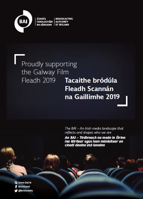 Tacaíonn an BAI le hábhar éagsúil Éireannach ag an 2019 Galway Film Fleadh