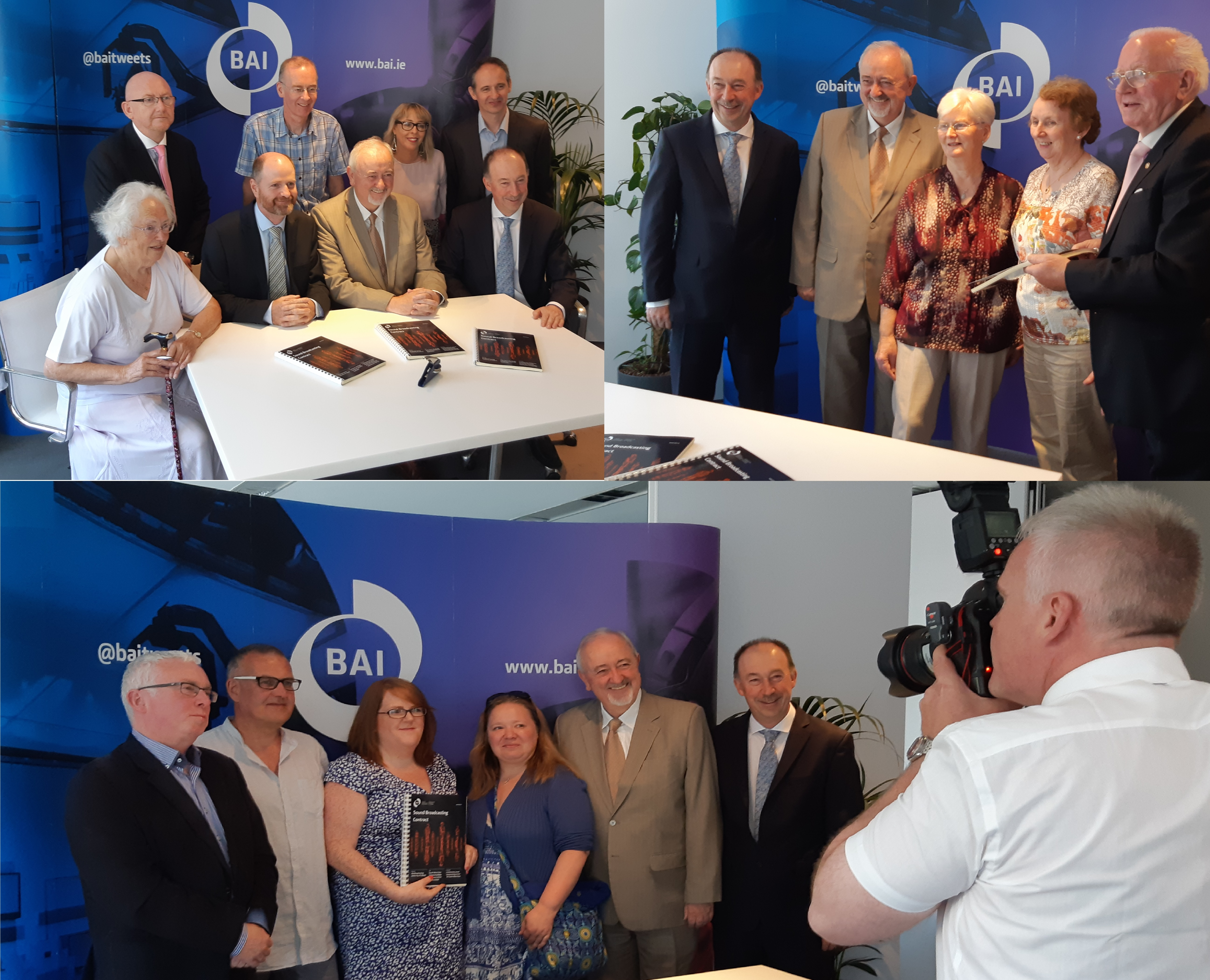 Contracts Signed for Community Radio Services