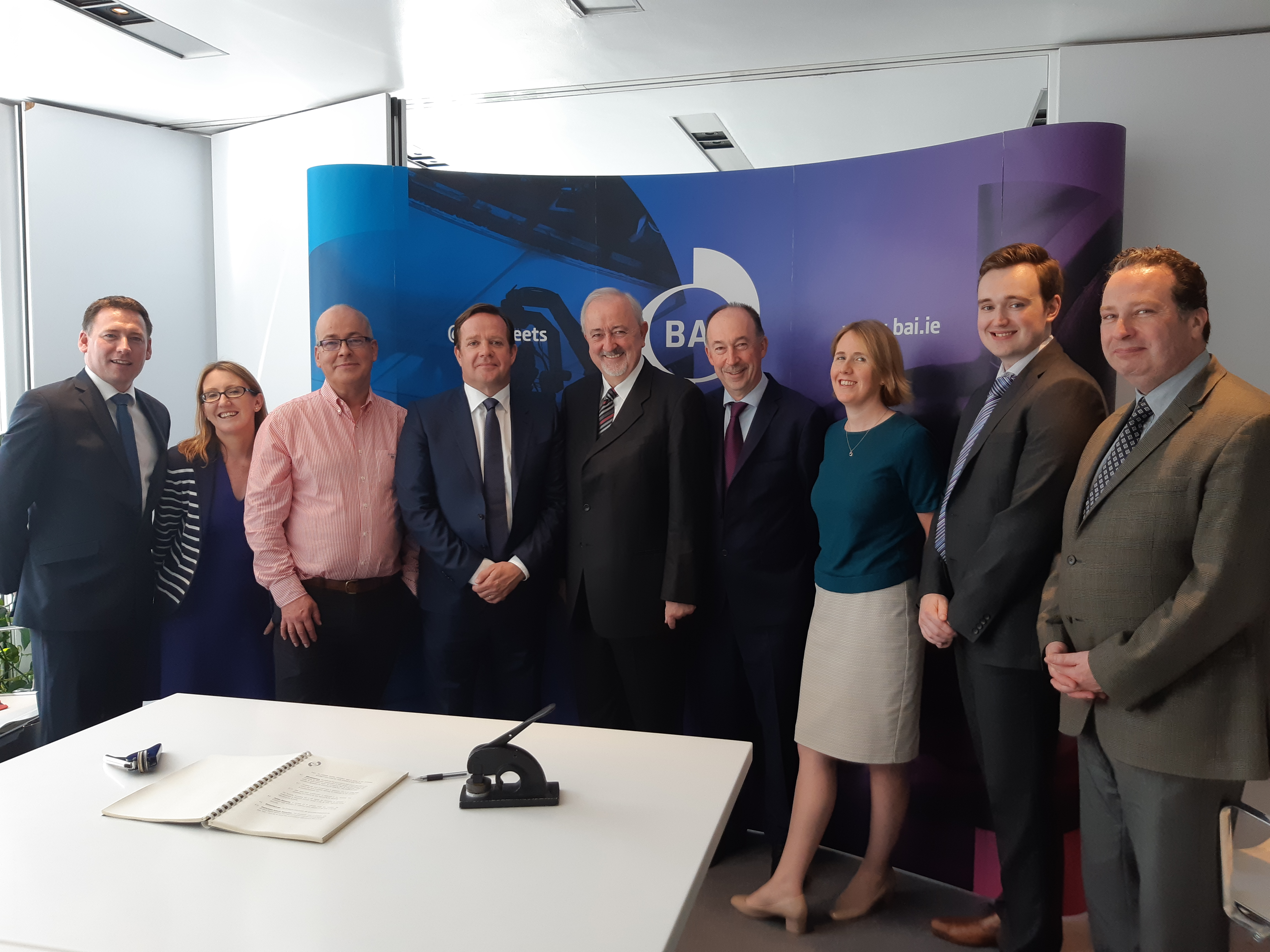 BAI signs Contracts with Virgin Media Television Limited